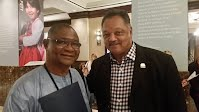 Mr. Jalloh with Jessie Jackson